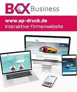 Verschiedene Geräte mit einer günstigen Website von Webboxes