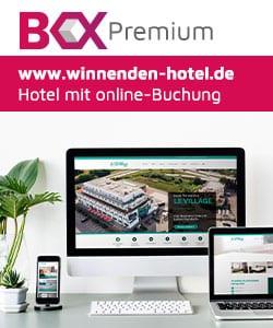 Drei Geräte mit einer Webboxes-Premium Website