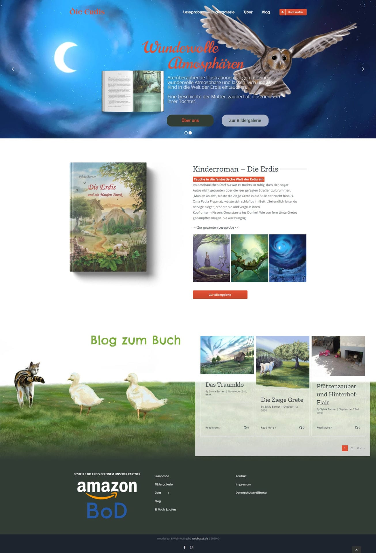 die-erdis.de Webboxes Business Website Screenshot